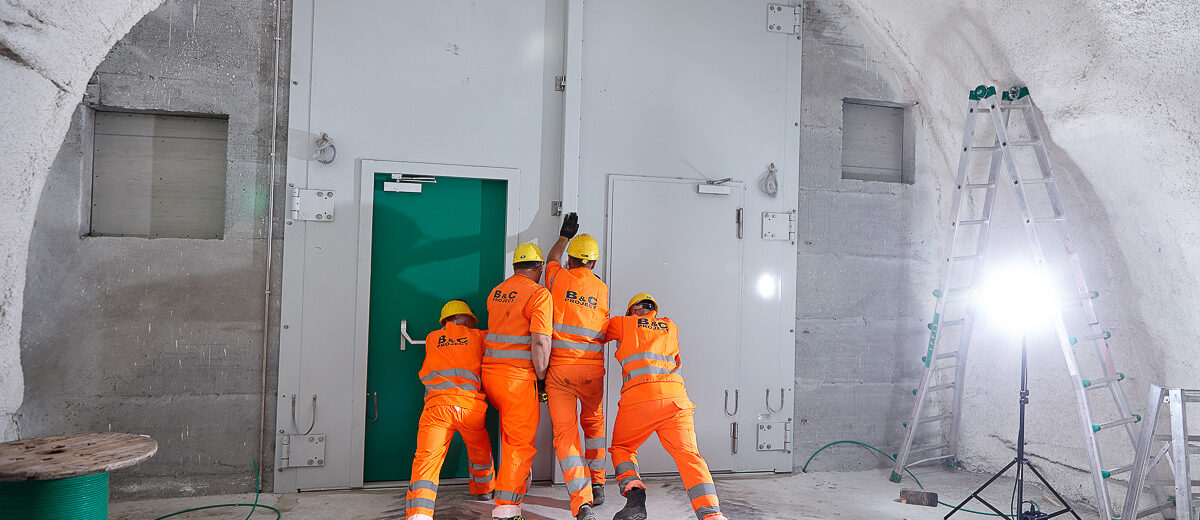 B&C Project - Hodapp - Porte antincendio