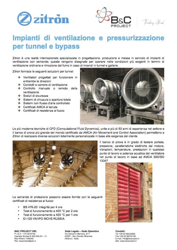B&C Project - Zitron Opuscolo